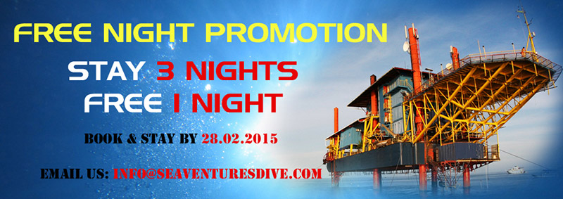 Diving package promotion extended