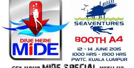 MIDE 2015 Seaventures Dive - Dive Sipadan