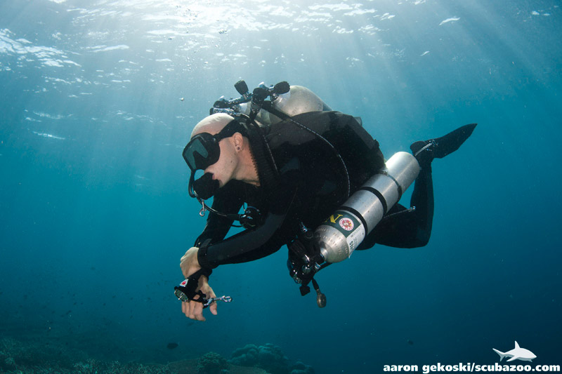 Specialty of the Month: PADI Tec Sidemount Diver