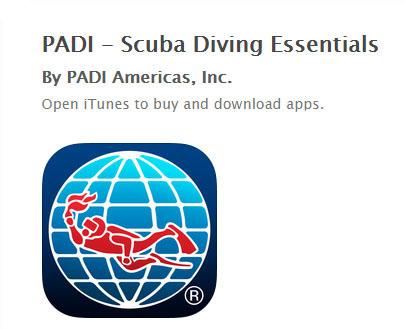 PADI Mobile Apps
